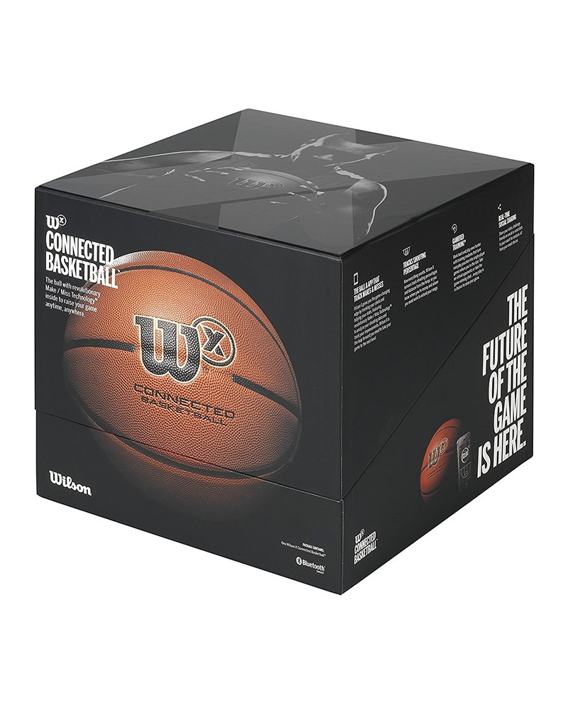 Wilson X Basketball, krabice
