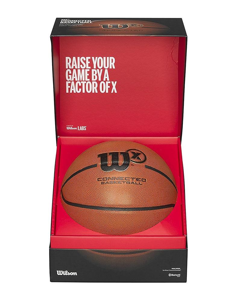Wilson X Basketball, obsah krabice