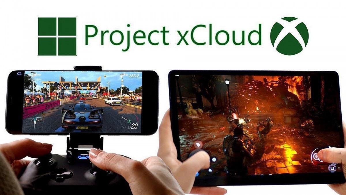 Microsoft a Sony; screenshot: microsoft xcloud