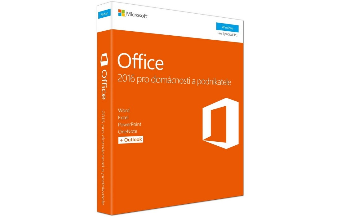 Office 2016, krabicová verze