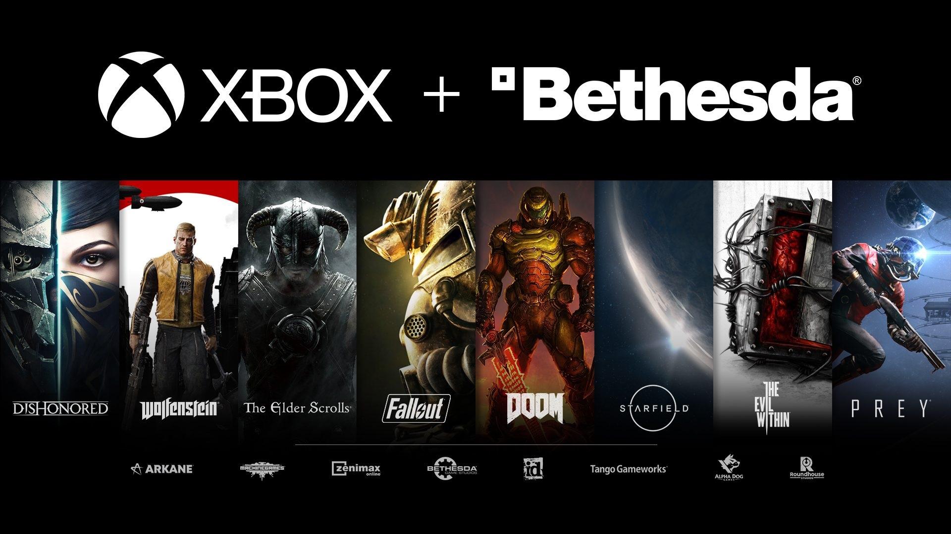 Xbox Bethesda; screenshot: Xbox + Bethesda