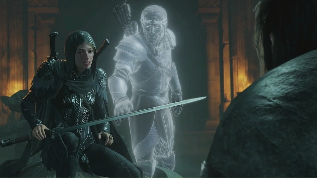 Middle-earth: Shadow of War – Blade of Galadriel; Eltariel, Celebrimbor