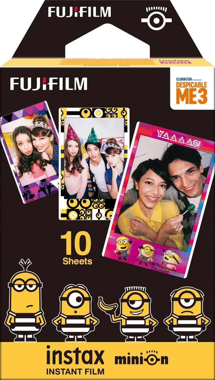 Fujifilm Instax Mini 8 Minion; fotopapíry