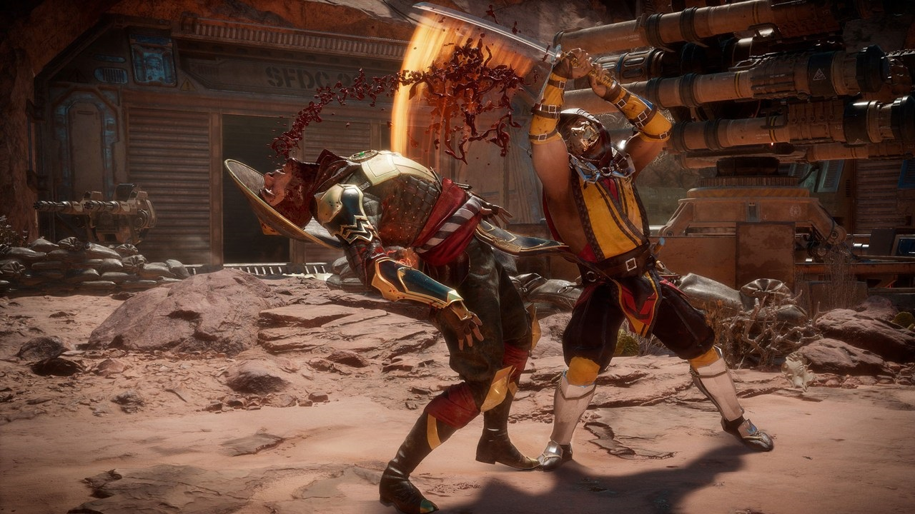 Nejočekávanější hry v roce 2019; Mortal Kombat 11, screenshot: zbraně