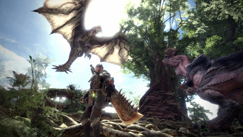 Nejlepší hry; Monster Hunter: World; Wallpaper: svět, monstra