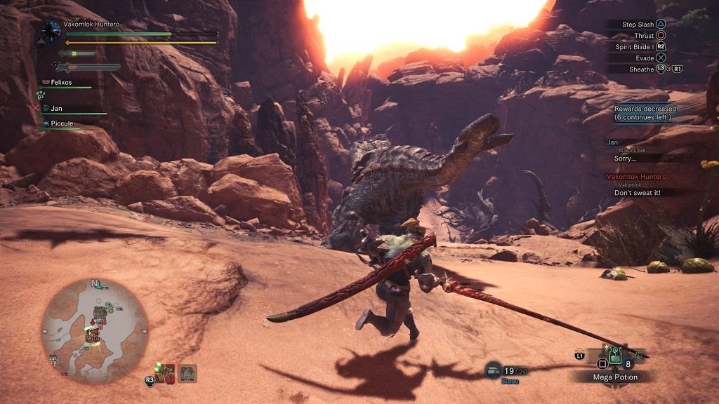 Monster Hunter: World; co-op, multiplayer