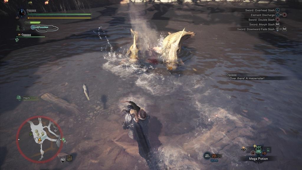 Monster Hunter: World; rybičky, oceán