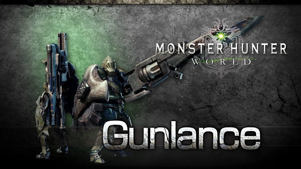 Monster Hunter: World; Gunlance, zbraně