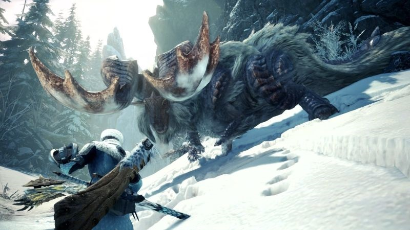 Monster Hunter World: Iceborne; screenshot: souboj