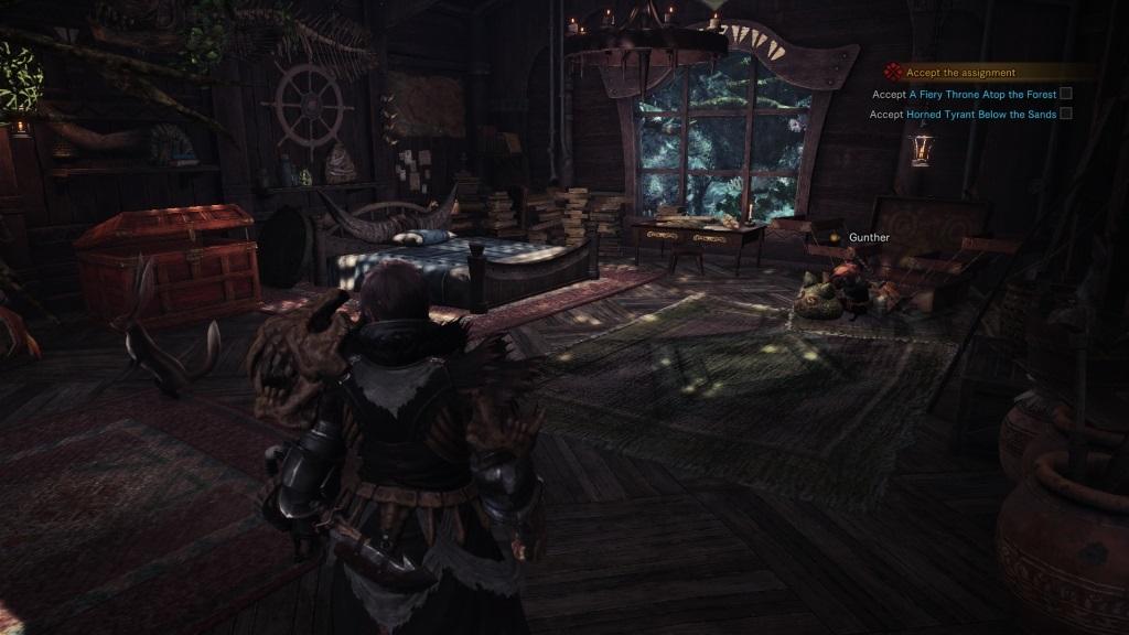 Monster Hunter: World; Gameplay: mazlíček