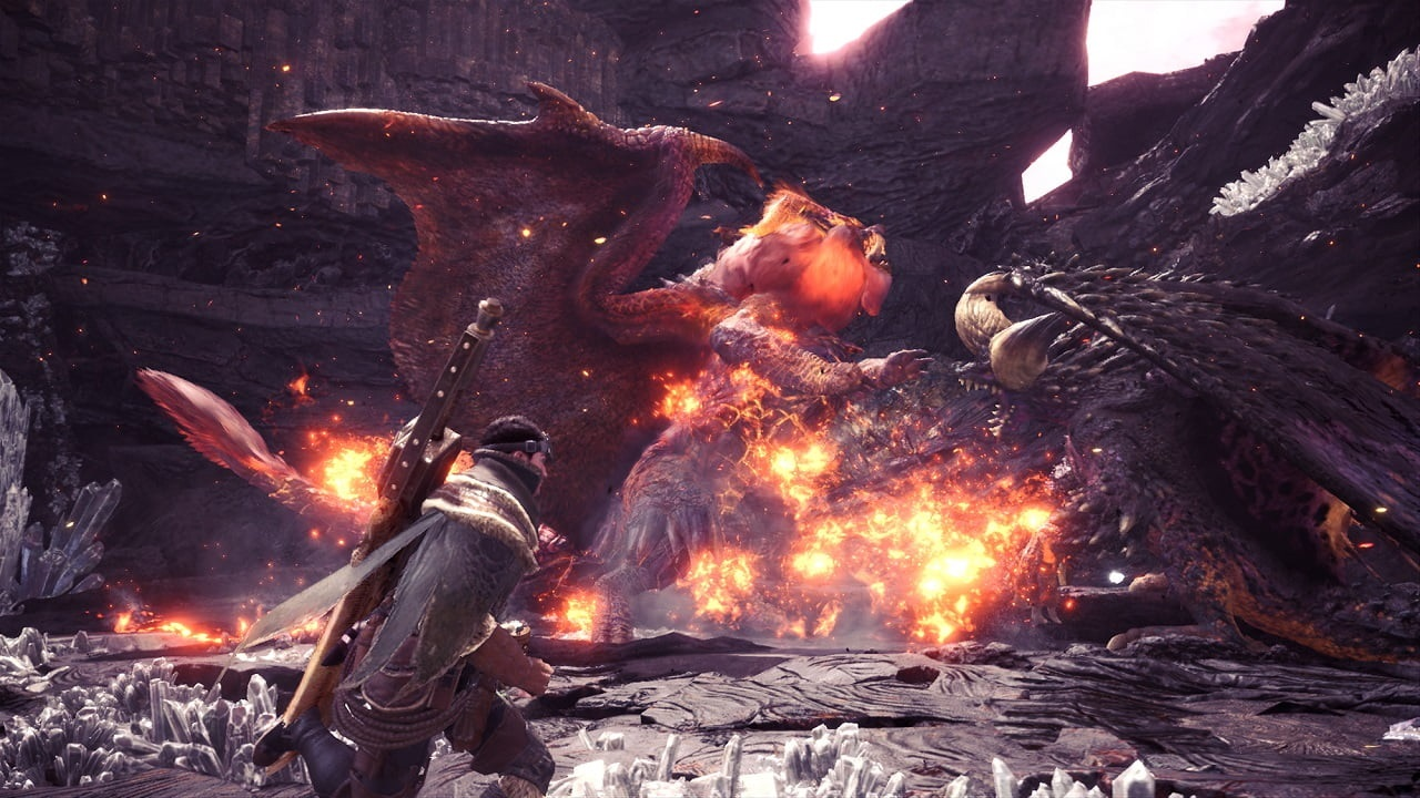 Monster Hunter: World; elder, dragons