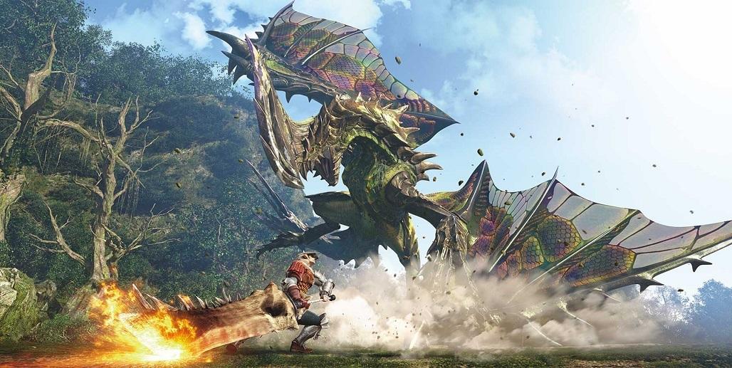Monster Hunter: World; Dragon monster