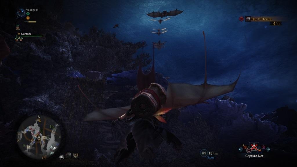 Monster Hunter: World; Wallpaper: slinger, plachtění