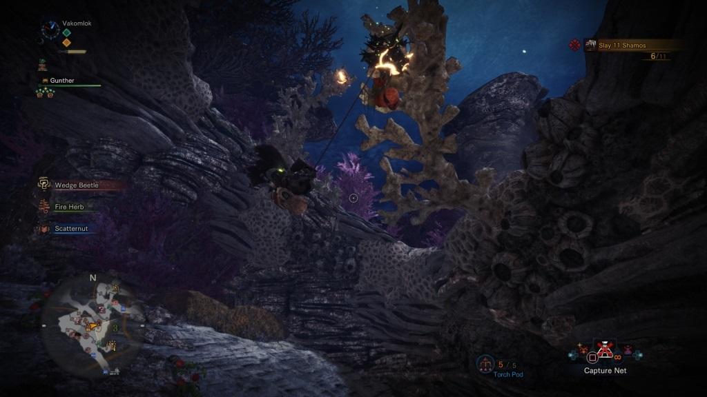 Monster Hunter: World; Wallpaper: wedge beetle, slinger