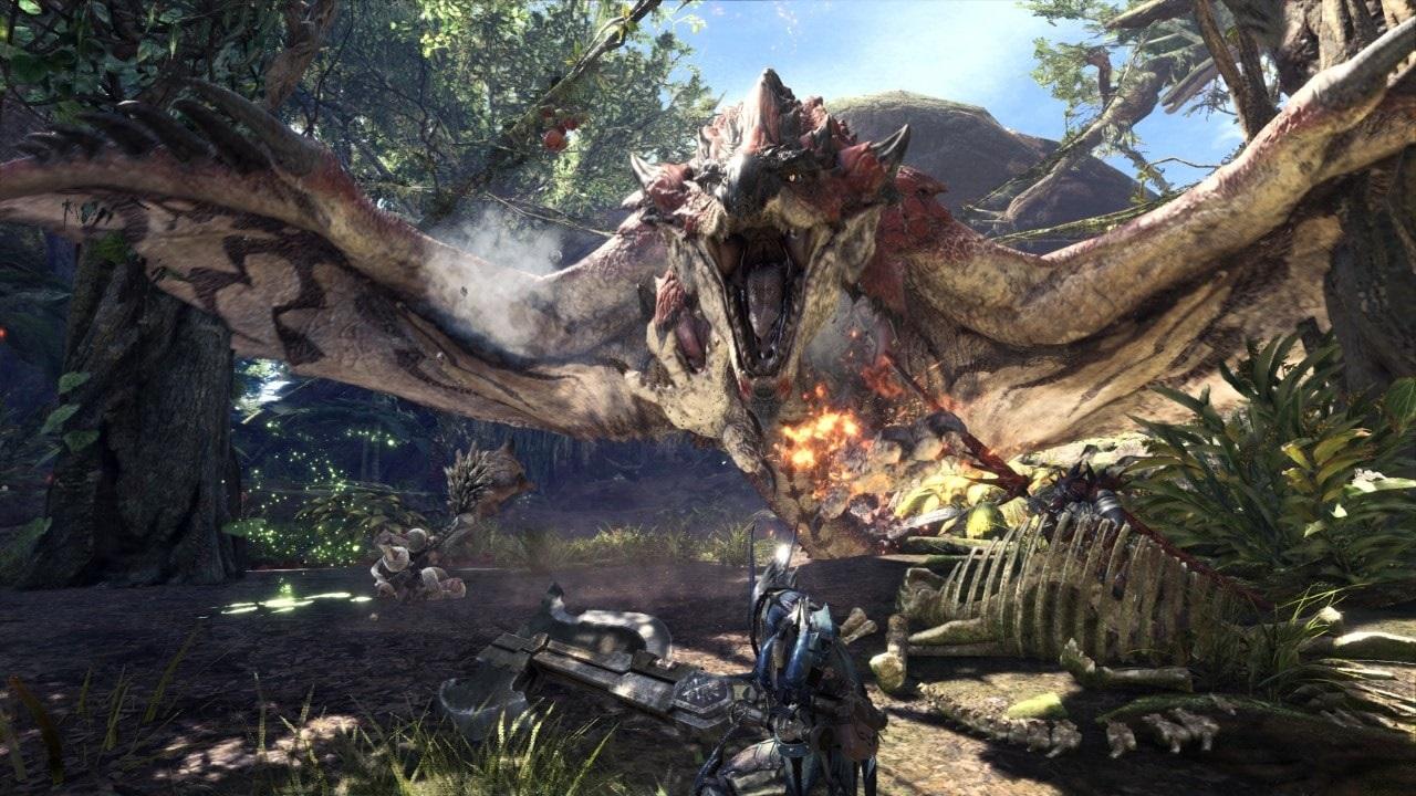Monster Hunter: World; screenshot