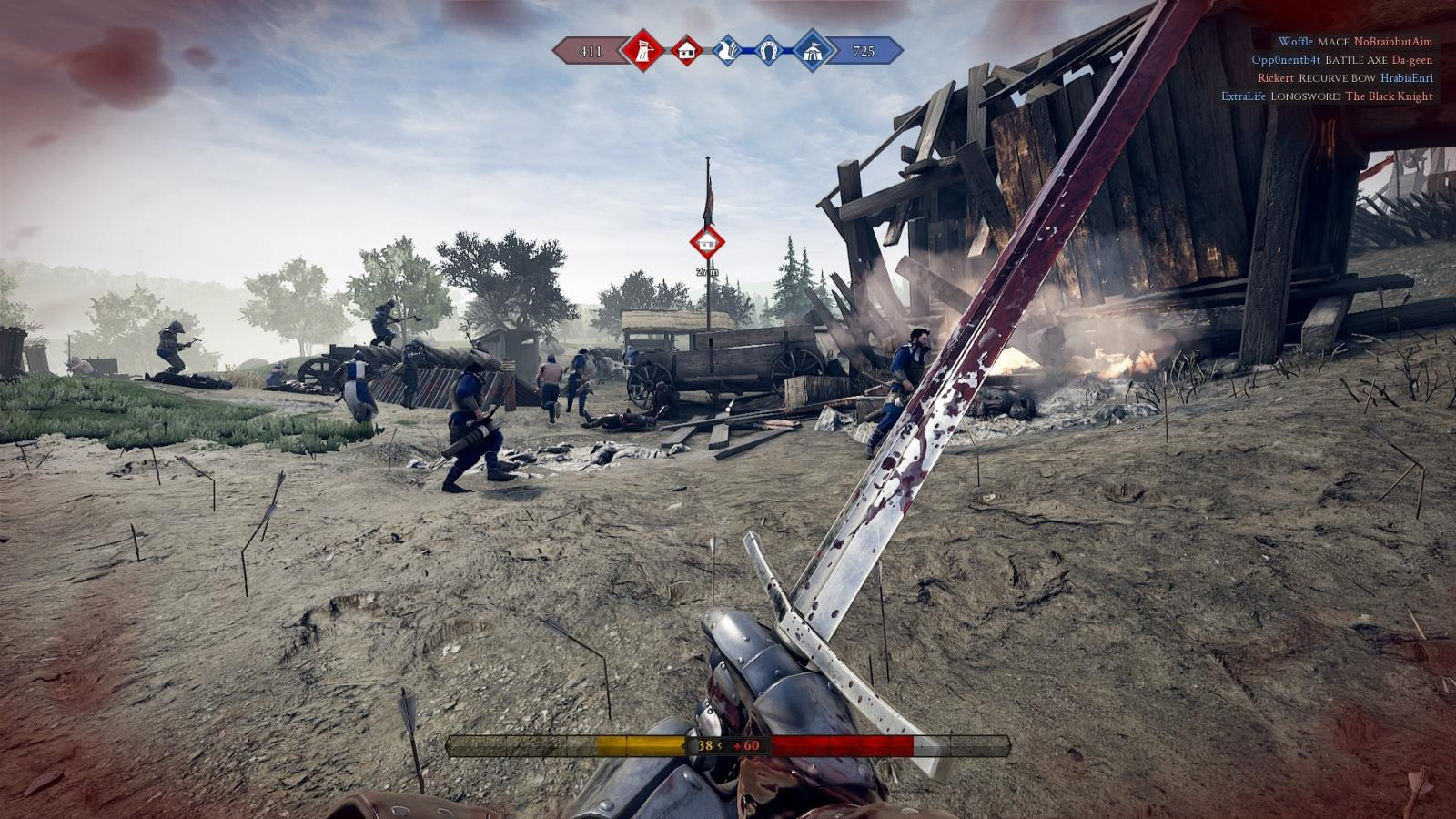 Mordhau; gameplay: meč