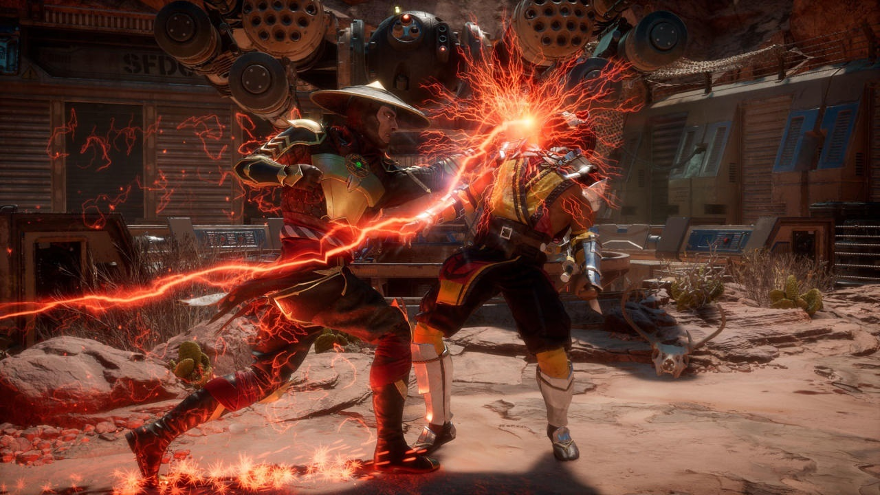 Mortal Kombat 11; screenshot: zásah