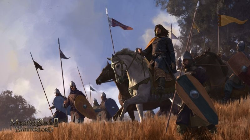 Mount and Blade: Bannerlord 2; screenshot: armáda