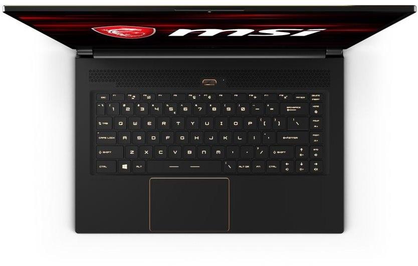Herní notebook GS65 Stealth Thin - klávesnice