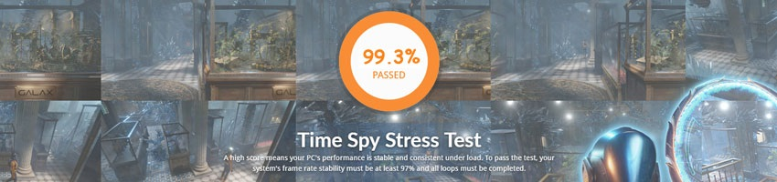 MSI GTX 1050 Gaming X 2G; 3DMark Stress  Test
