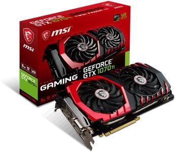 MSI GTX 1070 Ti Gaming 8G