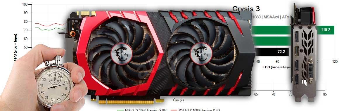 MSI GTX 1070 Ti Gaming 8G recenze a testy