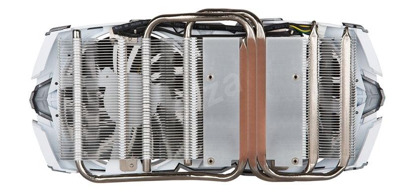 MSI GTX 1080 Armor 8G OC chlazení