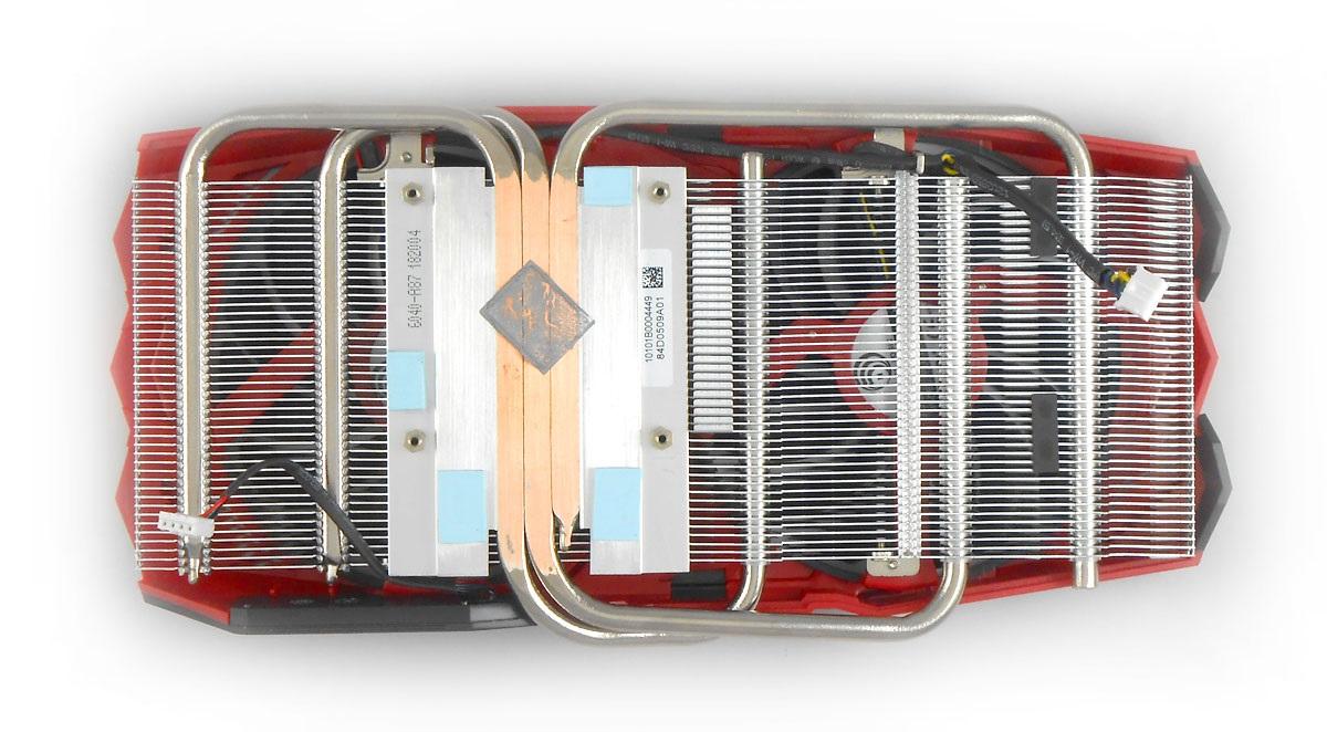 MSI RX 570 Mech 2 8G OC; systém chlazeni