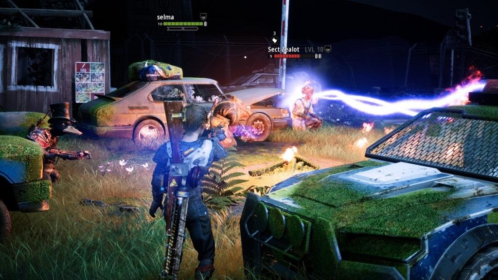 Mutant Year Zero: Road to Eden; screenshot: grafika