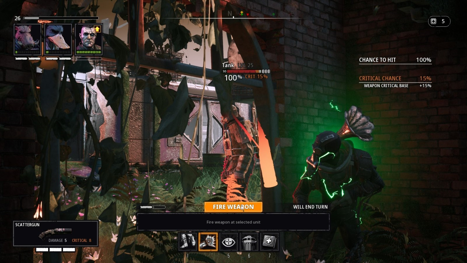 Mutant Year Zero: Road to Eden; gameplay: kontrola