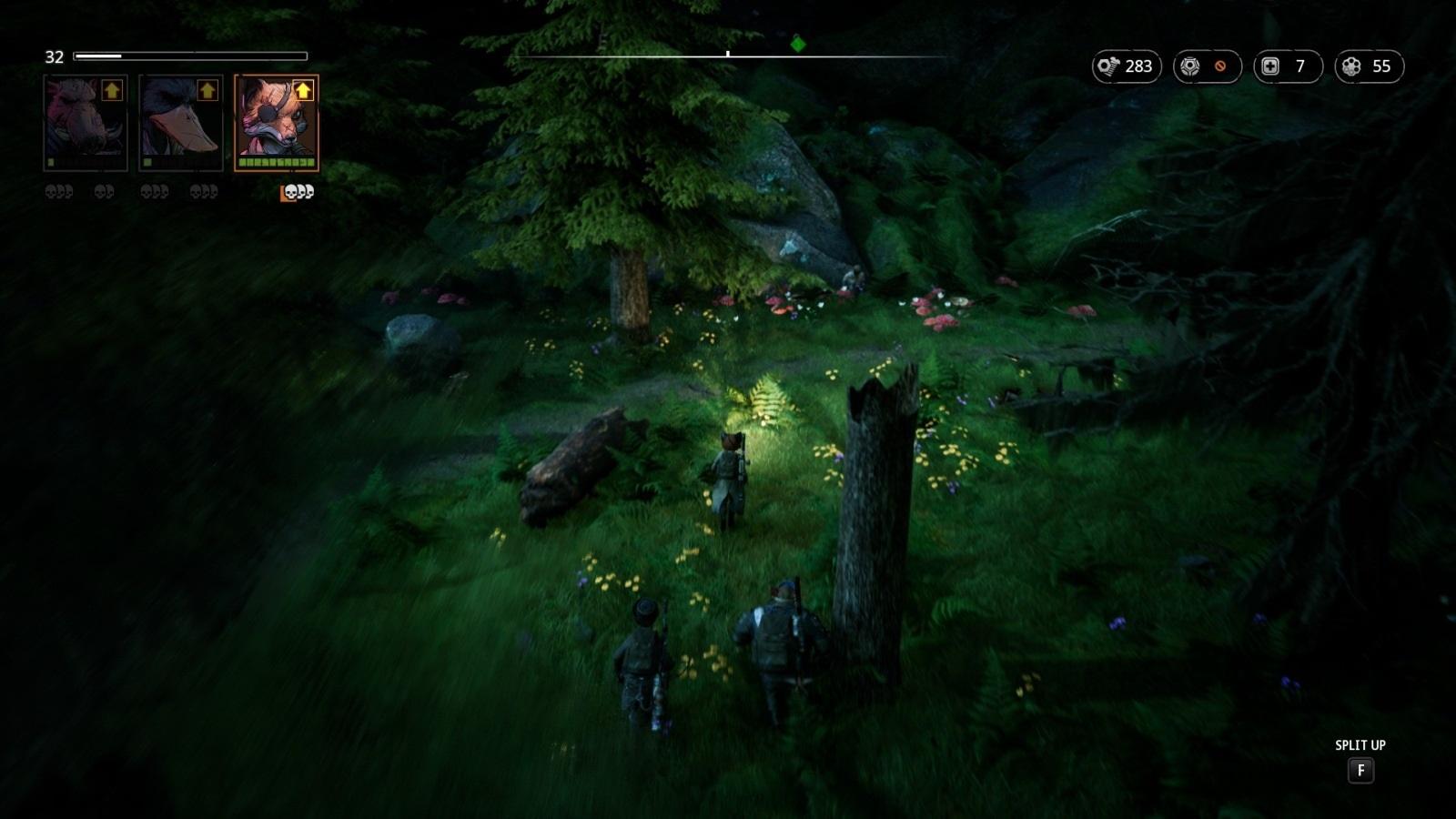 Mutant Year Zero: Road to Eden; gameplay: les
