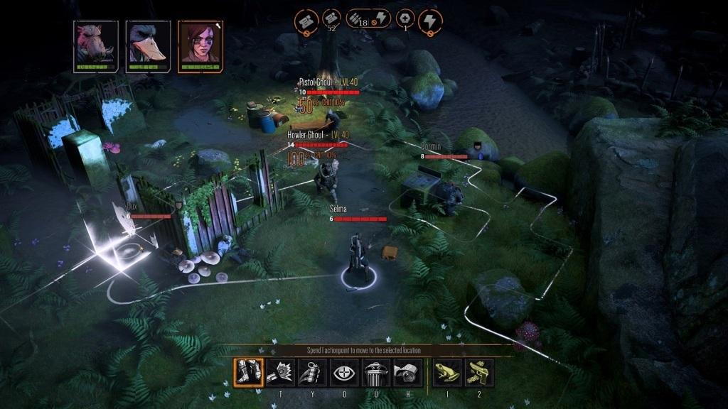 Mutant Year Zero: Road to Eden; screenshot: prostředí