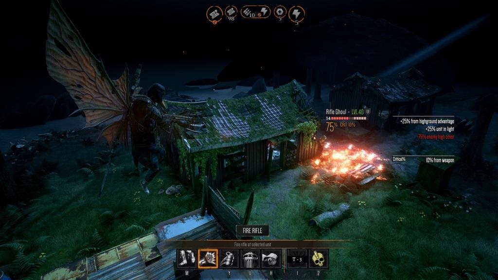Mutant Year Zero: Road to Eden; Gameplay: souboj, sniper