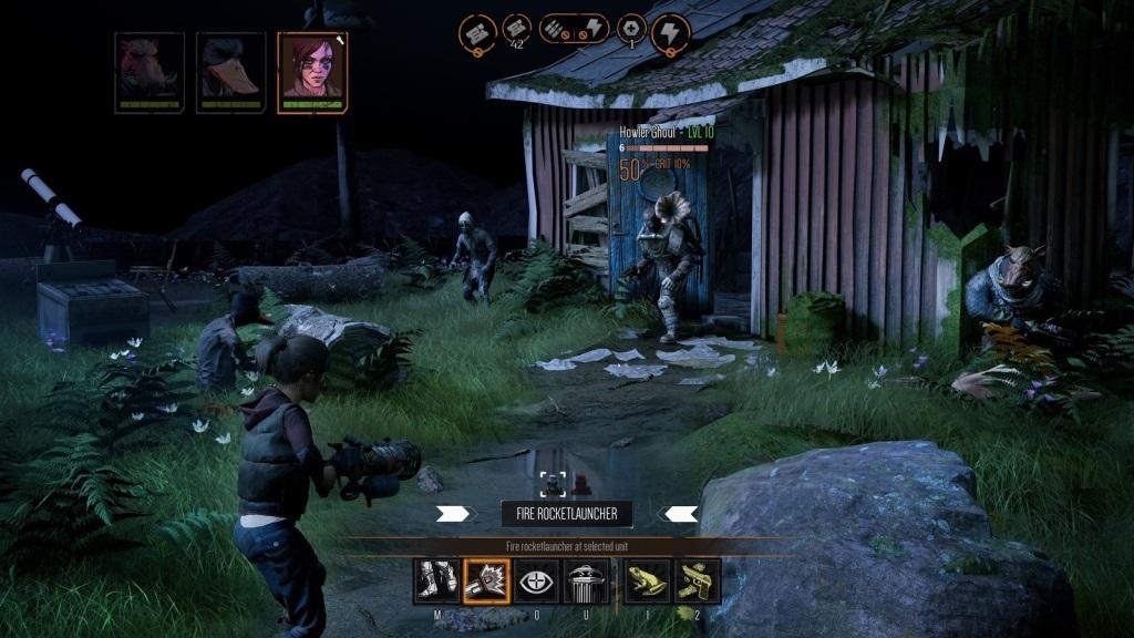 Mutant Year Zero: Road to Eden; screenshot: Selma