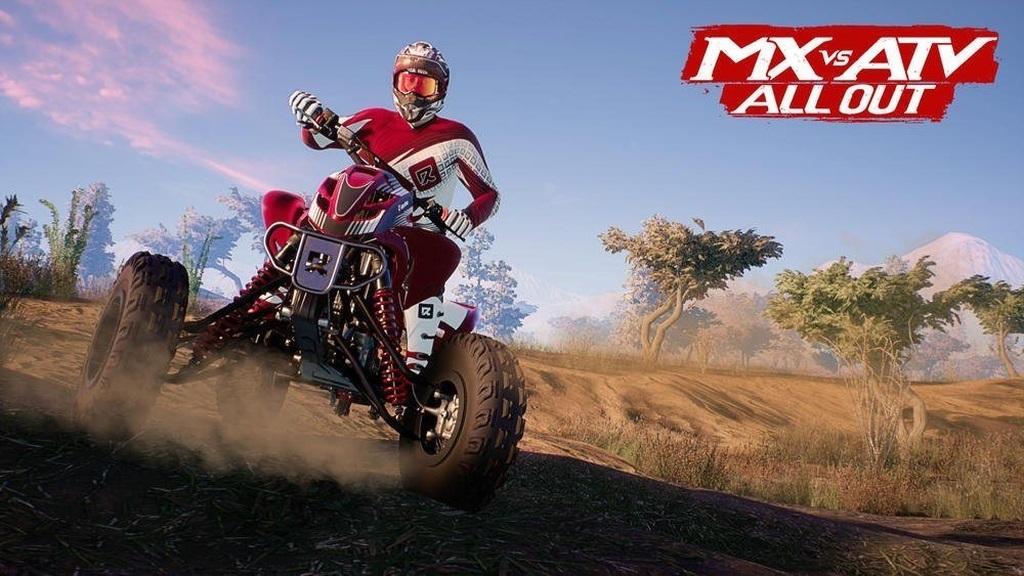 MX vs ATV: All Out; Wallpaper: čtyřkolka, smyk
