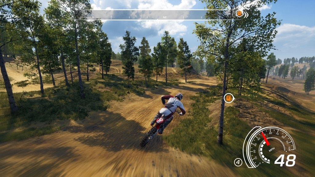 MX vs ATV: All Out; Gameplay: dopad