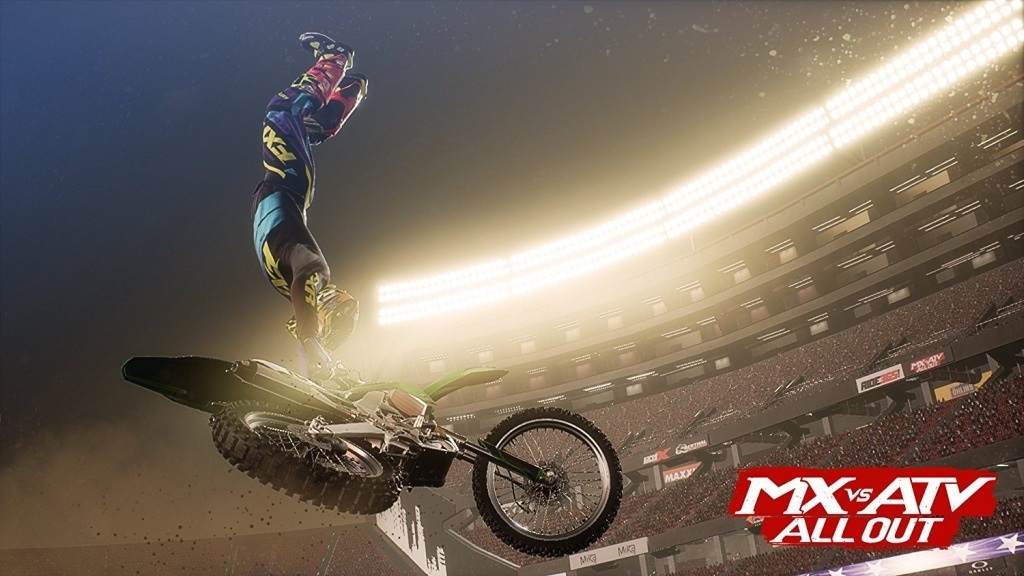 MX vs ATV: All Out; Wallpaper: freestyle