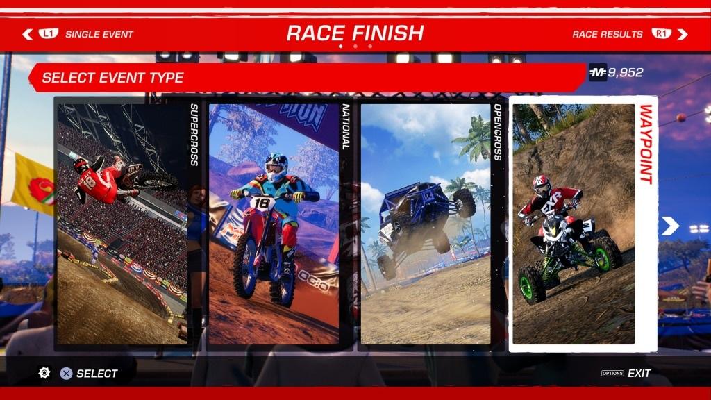 MX vs ATV: All Out; Gameplay: režimy