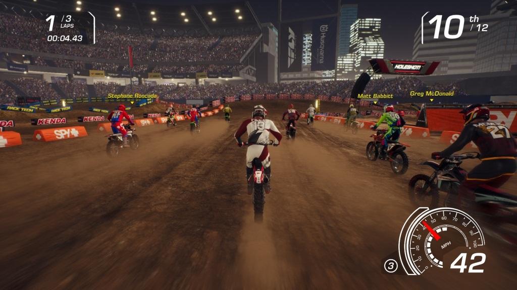 MX vs ATV: All Out; Gameplay: supercross