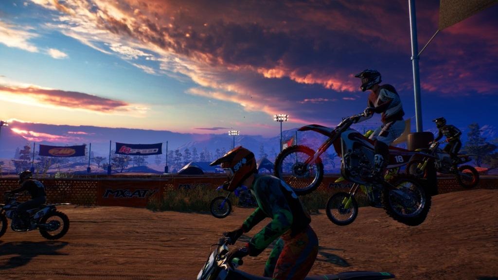 MX vs ATV: All Out; Gameplay: za letu