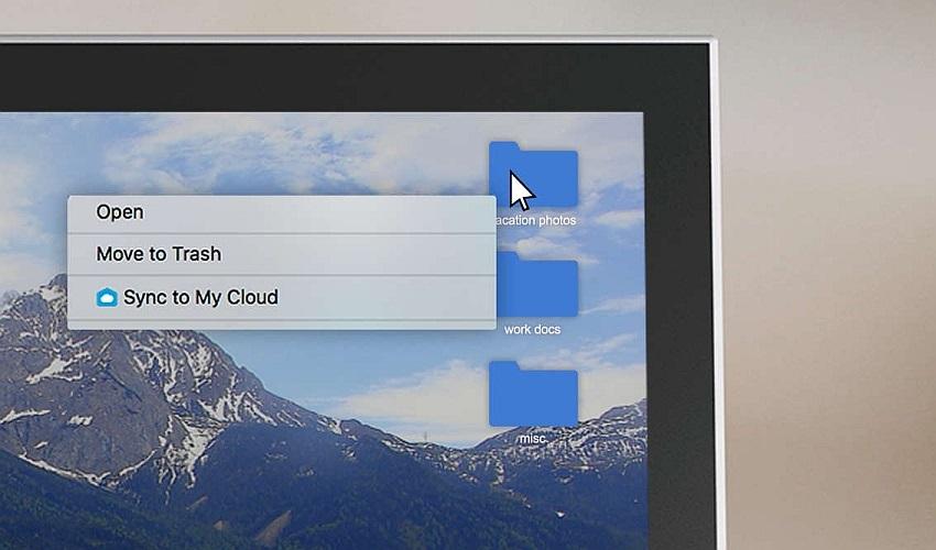 Synchronizace My Cloud Home