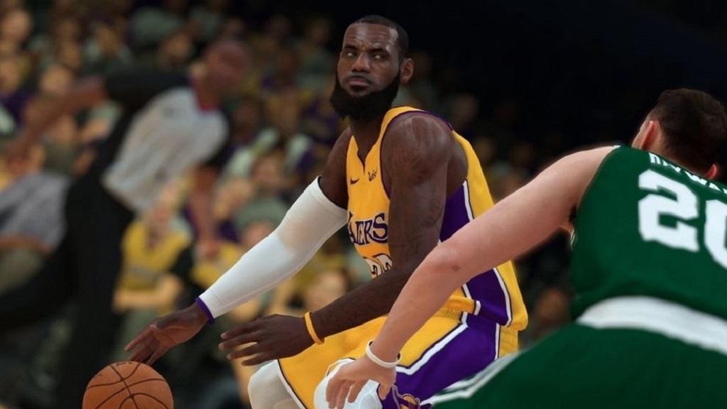NBA 2K19; screenshot: hvězdy