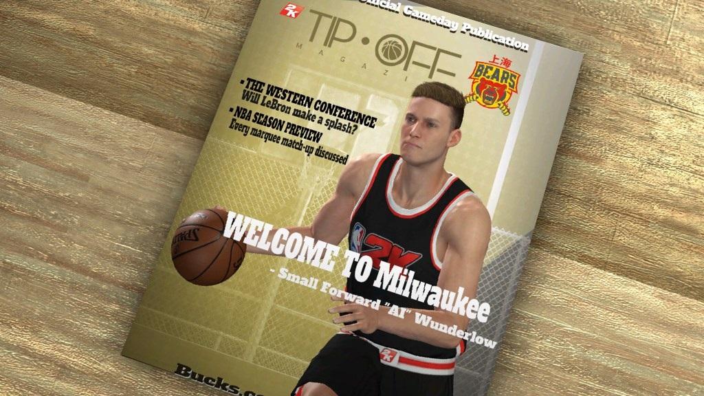 NBA 2K19; gameplay: magazín