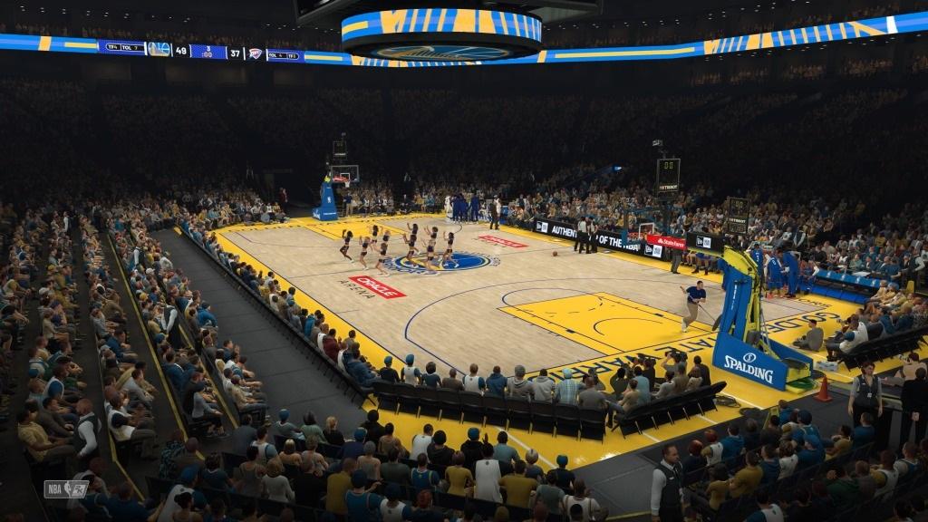 NBA 2K19; gameplay: přestávka