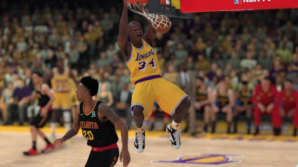 NBA 2K19; gameplay: Shaquille