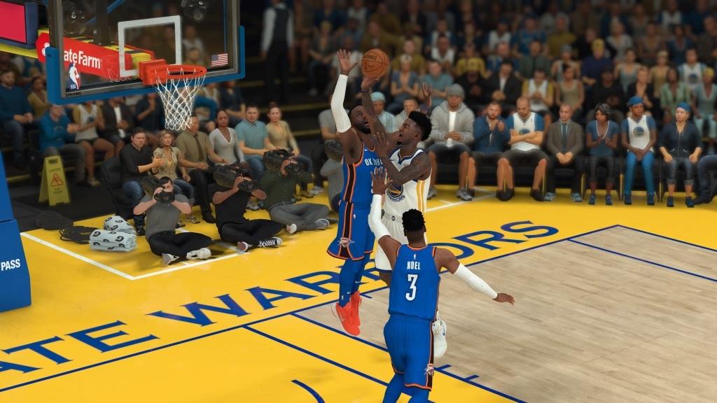 NBA 2K19; gameplay: souboje