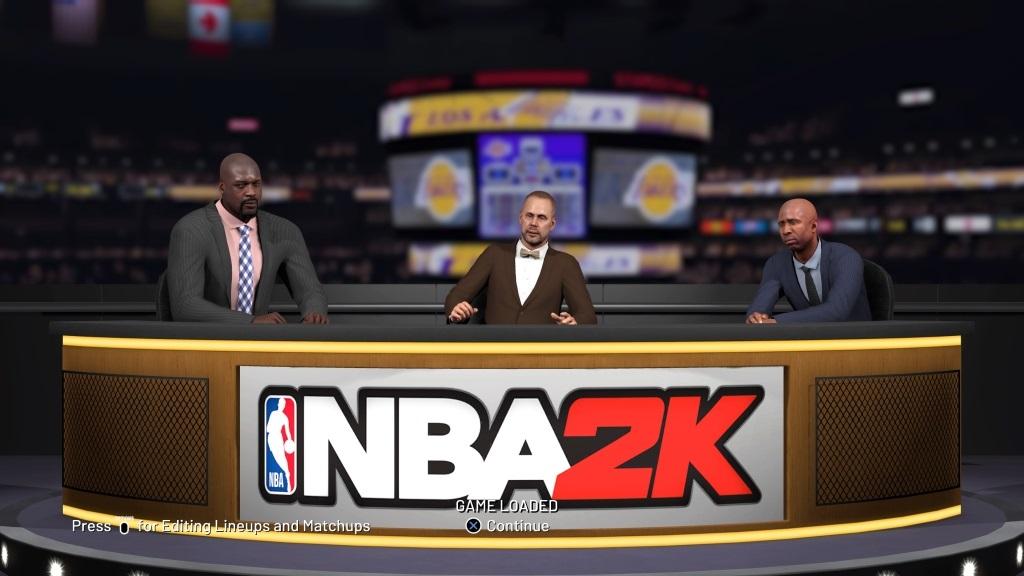NBA 2K19; gameplay: studio