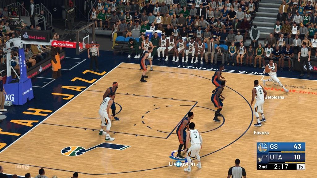 NBA 2K19; gameplay: útok