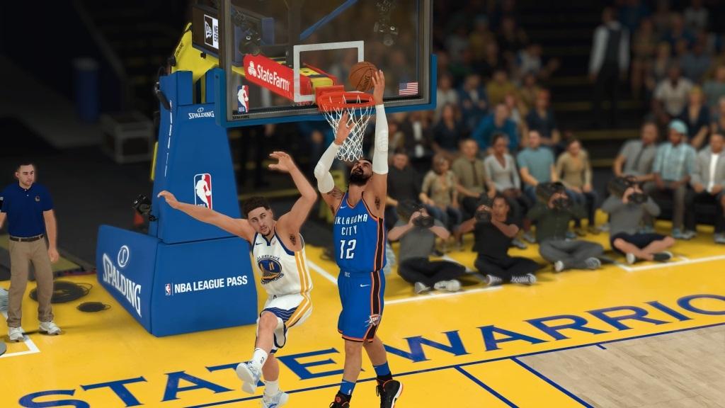 NBA 2K19; gameplay: zavěšování