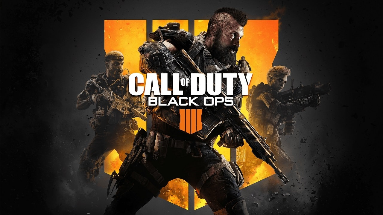 Call of Duty: Black Ops 4; key art